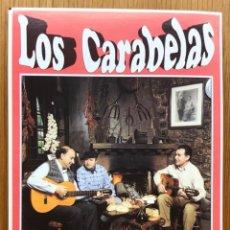 Fotos de Cantantes: TARJETA PROMOCIONAL DE LOS CARABELAS - EL SABOR DE LO NUESTRO (SANTANDER - CANTABRIA). Lote 140418346