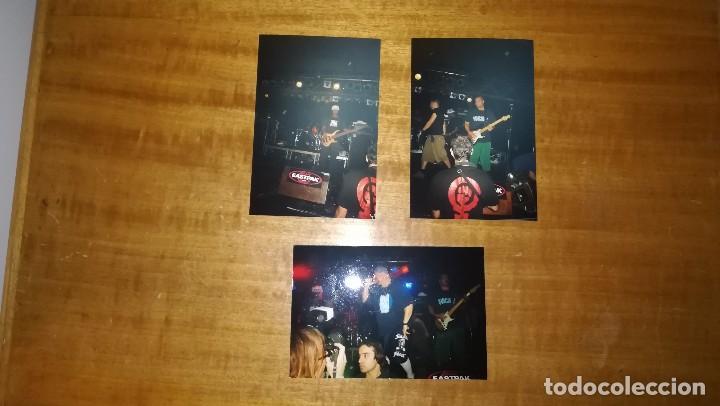 LOTE DE 3 FOTOGRAFIAS ORIGINALES SUICIDAL TENDENCIES, SALA RAZZMATAZZ (Música - Fotos y Postales de Cantantes)