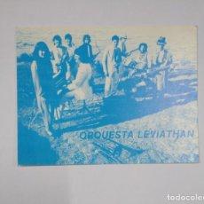 Fotos de Cantantes: POSTAL TARJETA PRESENTACION ORQUESTA LEVIATHAN. LOGROÑO. LA RIOJA. TDKP13. Lote 141934874