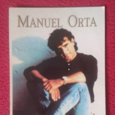 Fotos de Cantantes: TARJETA POSTAL POST CARD CARTE POSTALE CANTANTE MANUEL MANOLO ORTA SEVILLANAS CON DEDICATORIA FIRMA . Lote 142076434