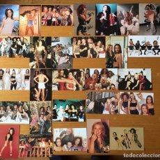 Fotos de Cantores: SPICE GIRLS - LOTE 28 FOTOS - OFFICIAL PHOTO ALBUM - MAGIC BOX INT.1997. Lote 144847957