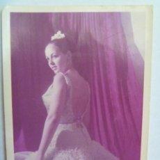 Fotos de Cantantes: FOTO DE LA CANTANTE DE COPLA Y BAILAORA FLAMENCA PEPITA NARANJO. SEVILLA , 1966. Lote 144909038