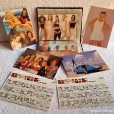 Fotos de Cantantes: COLECCION ALBUM CON 28 FOTOS APROX TIPO POSTAL SPICE GIRLS. Lote 145236782
