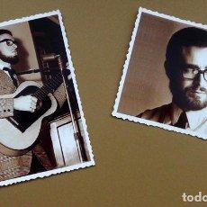 Fotos de Cantantes: LOTE 2 FOTOGRAFIAS DE JOAQUÍN DÍAZ - FOLK RETRO VINTAGE. Lote 145249382