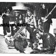 Fotos de Cantantes: SMASH GRUPO DE ROCK ANDALUZ AÑOS 70 .- INDUSTRIAS GRAFICAS BERGAS. Lote 147091230