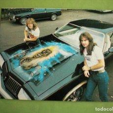Fotos de Cantantes: IRON MAIDEN POSTAL ESPAÑA DISCOPLAY HEAVY METAL ROCK AÑOS 80 . Lote 147095214