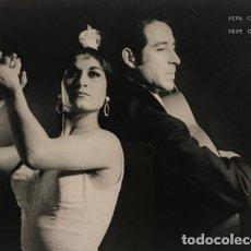 Fotos de Cantantes: PEPA CORTES Y PEPE CONTRERAS. FLAMENCO GITANO. PARÍS. FOTO RENÉ ROBERT. Lote 146729334
