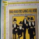Fotos de Cantantes: POSTAL DE MÚSICA. AÑO 1988. RETRO VINTAGE ANTIGUA CANCIÓN. HAIL¡ HAIL¡ THE GANGS ALL HERE. 2121. Lote 147367230