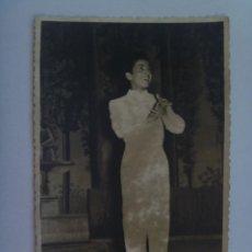 Fotos de Cantantes: FOTO DEL NIÑO FLAMENCO PEPITO MARCHENA, AÑOS 50. Lote 147696962