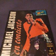 Fotos de Cantantes: REVISTA OFICIAL PROMO MICHAEL JACKSON EN CONCIERTO 1988. ERISA. VER FOTOS. Lote 147785218