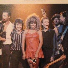 Fotos de Cantantes: ÁLBUM FOTOGRÁFICO TINA TURNER IN EUROPE 1988. VER FOTOS. Lote 147785858