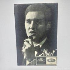 Fotos de Cantantes: ALBERT REGAL EMI 10X15. Lote 147847682