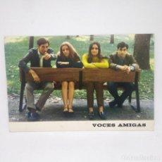 Fotos de Cantantes: VOCES AMIGAS NOVOLA 15,5 X 10. Lote 147848186
