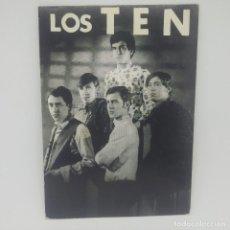 Fotos de Cantantes: LOS TEN 10 X 14,4 CM.. Lote 147852038