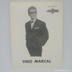 Fotos de Cantantes: TINO MARCAL EN DISCOS MAYANG 14 X 11 CM.. Lote 147852626