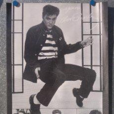 Fotos de Cantantes: ELVIS PRESLEY - VERKERKE POSTER - PRINTED IN NETHERLANDS - AÑO 1990. Lote 147861334