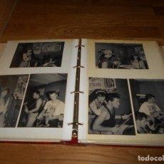 Fotos de Cantantes: ALBUM FOTOS GRUPO ROCKABILLY AÑOS 80 POSTER LOBOS NEGROS PIONEROS DEL (1984-1988) MAS DE 36 FOTOS. Lote 147905286