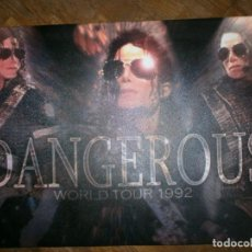 Fotos de Cantantes: FOTO SOBRE LIENZO MICHAEL JACKSON--DANGEROUS TOUR 1992. Lote 148097342