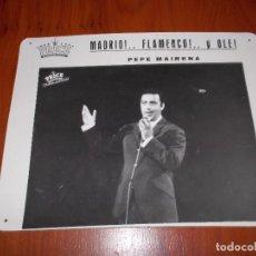 Fotos de Cantantes: FOTOGRAFIA PEPE MAIRENA. Lote 148310806