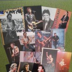 Fotos de Cantantes: LOTE DE 10 POSTALES Y 5 FOTOGRAFÍAS DE BRUCE SPRINGSTEEN. Lote 151175874