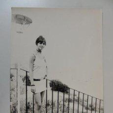 Photos de Chanteurs et Chanteuses: MARISOL PEPA FLORES - FOTO ORIGINAL B/N PRENSA 1976 - 20X30 CM . Lote 151269018