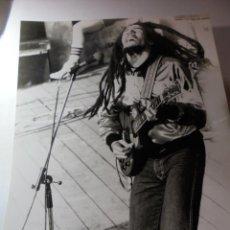 Fotos de Cantantes: MAGNIFICA FOTOGRAFIA DE BOB MARLEY. Lote 151545158