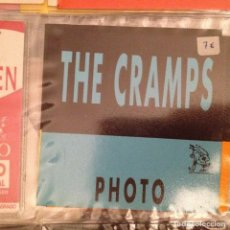 Fotos de Cantantes: THE CRAMPS. PASE PHOTO. Lote 152336722