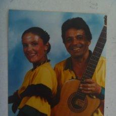 Fotos de Cantantes: FOTO DE DOS CANTANTES SUDAMERICANOS , DUO MUSICAL LATINO. Lote 153130030