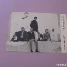 Fotos de Cantantes: ARTISTAS BELTER. LOS GRITOS. 16X10,5 CM.. Lote 153459098