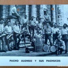 Fotos de Cantantes: PROMOCION PACHO ALONSO Y SUS PACHUCOS AÑOS 70 PRODUCCIONES ALFREDO SAAVEDRA BARCELONA GRUPO CUBANO. Lote 153822130