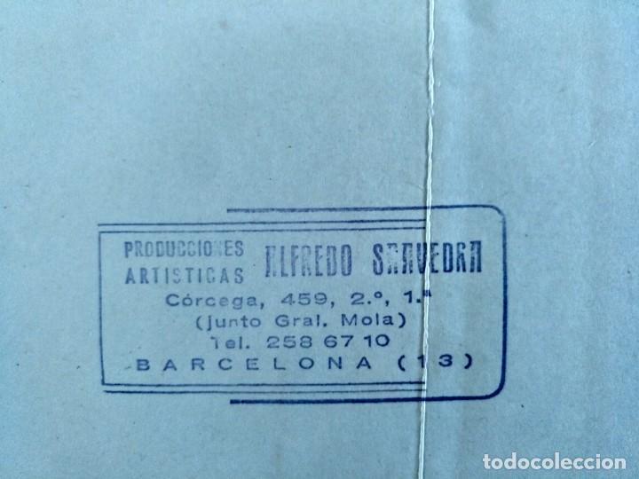 Fotos de Cantantes: PROMOCION PACHO ALONSO Y SUS PACHUCOS AÑOS 70 PRODUCCIONES ALFREDO SAAVEDRA BARCELONA GRUPO CUBANO - Foto 3 - 153822130