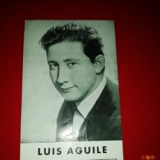 Fotos de Cantantes: FOTO LUIS AGUILÉ AÑOS 60. Lote 154059042