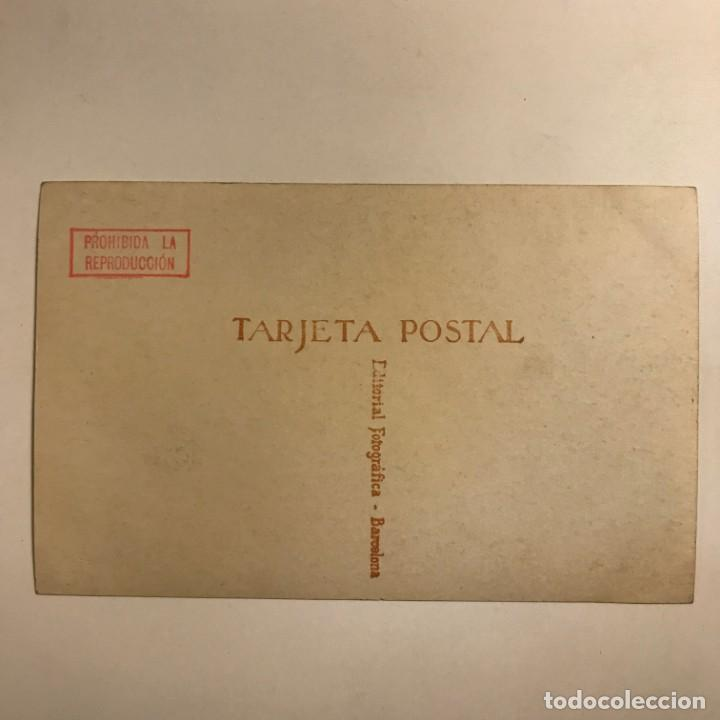 Hipólito Lázaro. Fotografía / Tarjeta postal original. - 154492858