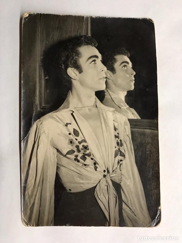 RAFAEL CONDE EL TITI. FOTOGRAFÍA ORIGINAL DEDICADA (A.1960) (Musik - Fotos und Postkarten von Musikern)