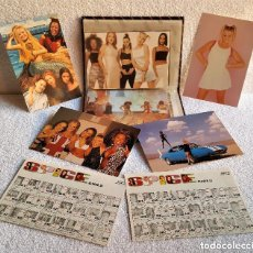 Fotos de Cantantes: COLECCION ALBUM CON 28 FOTOS APROX TIPO POSTAL SPICE GIRLS. Lote 154925082