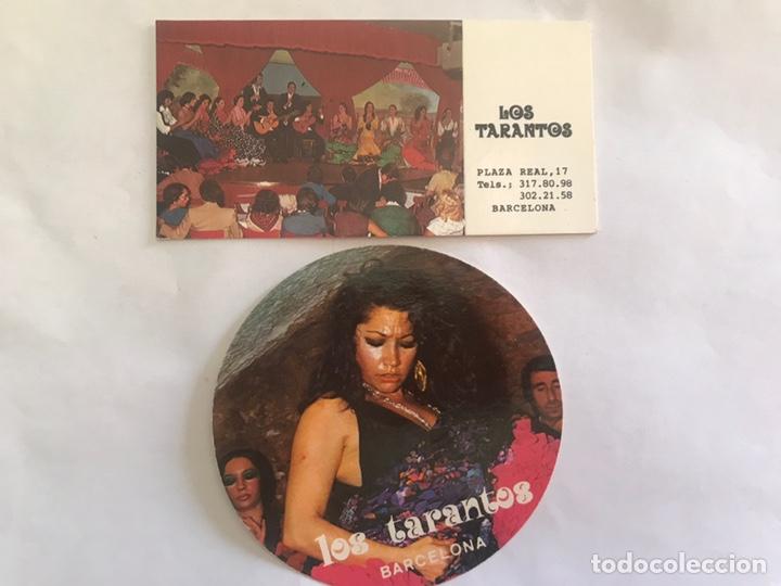 LOS TARANTOS. TARJETA PUBLICIDAD (2) EL RABAL. BARCELONA (H.1980?) (Música - Fotos y Postales de Cantantes)