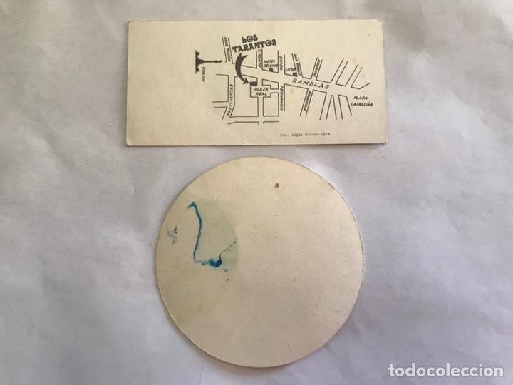 Fotos de Cantantes: LOS TARANTOS. Tarjeta Publicidad (2) El Rabal. Barcelona (h.1980?) - Foto 2 - 155428905
