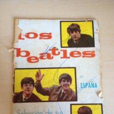 Fotos de Cantantes: LOS BEATLES EN ESPAÑA - CANCIONERO ILUSTRADO 1965. Lote 155487814