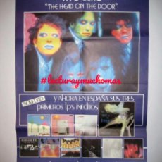 Fotos de Cantores: THE CURE - THE HEAD ON THE DOOR (1985) - CARTEL ORIGINAL PROMOCIONAL. . Lote 155704870