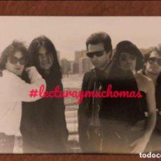 Fotos de Cantantes: BURNING. FOTOGRAFÍA ORIGINAL DE LA BANDA. 12,5 X 17,5 CMS.. Lote 155708818