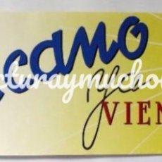 Fotos de Cantantes: MECANO, YA VIENE EL SOL (1984). HISTÓRICO CARTEL PROMOCIONAL DEL ÁLBUM. 60X20 CMS.. Lote 155689382