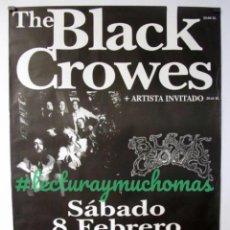 Foto di Cantanti: THE BLACK CROWES. HISTÓRICO CARTEL PROMOCIONAL CONCIERTO PABELLÓN ANAITASUNA (PAMPLONA) EN 1997.. Lote 155712050