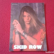 Fotos de Cantantes: POSTAL POST CARD CARTE POSTALE MÚSICA MUSIC GRUPO MUSICAL GROUP SKID ROW BANDA BAND SEBASTIAN BACH . Lote 155792838