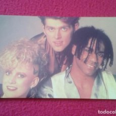 Fotos de Cantantes: POSTAL POST CARD CARTE POSTALE MÚSICA MUSIC GRUPO MUSICAL GROUP BANDA BAND THOMPSON TWINS VER FOTOS. Lote 155794030