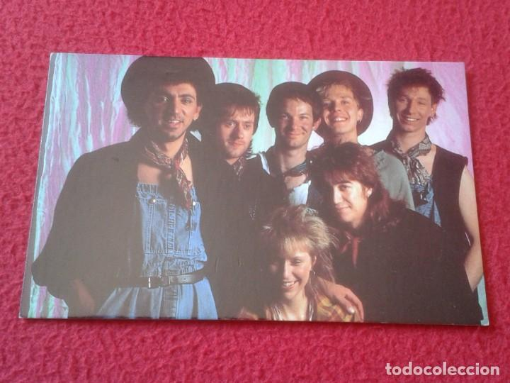 POSTAL POST CARD MÚSICA MUSIC GRUPO MUSICAL GROUP BANDA BAND DEXY´S MIDNIGHT RUNNERS COME ON EILEEN (Música - Fotos y Postales de Cantantes)