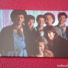 Fotos de Cantantes: POSTAL POST CARD MÚSICA MUSIC GRUPO MUSICAL GROUP BANDA BAND DEXY´S MIDNIGHT RUNNERS COME ON EILEEN. Lote 155806698
