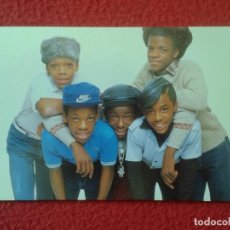 Fotos de Cantantes: POSTAL POST CARD CARTE POSTALE MÚSICA MUSIC GRUPO MUSICAL GROUP BANDA BAND NEW EDITION CANDY GIRL.... Lote 155807218