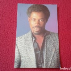 Fotos de Cantantes: TARJETA POSTAL POST CARD CARTE POSTALE MÚSICA MUSIC CANTANTE SINGER BILLY OCEAN CARIBBEAN QUEEN 1984. Lote 155809334