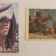 Fotos de Cantantes: LOTE 2 POSTALES LENNY KRAVITZ. Lote 156027074