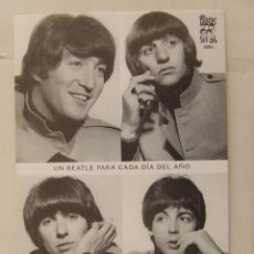Fotos de Cantantes: POSTAL FELIZ AÑO 2005 SGT. BEATLES FAN CLUB . Lote 156459722
